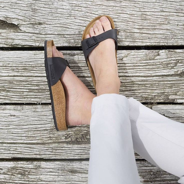 Simple and chic, the Birkenstock 'Madrid' slide is here for the summer. Shop: https://www.shoeconnection.co.nz/womens/sandals-slides/sandals/birkenstock-madrid-classic-slide?c=Black