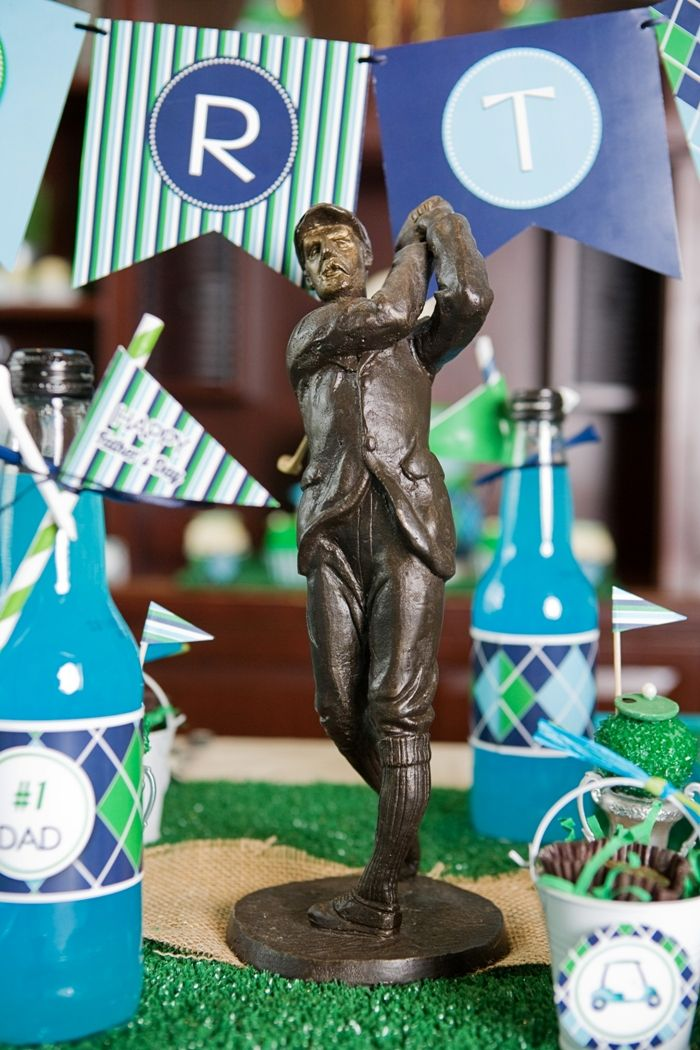 Golf Birthday Party Ideas and printables