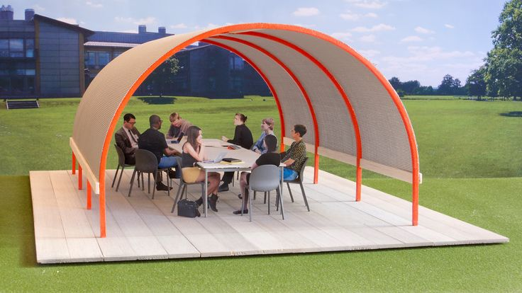 Why Aren't We All Working In Outdoor Offices Like These?: Jonathan Olivar, Outdoor Offices, Offices Design, Offices Spaces, Work Spaces, The Offices, Conference Rooms, Olivar Design, Art Institut