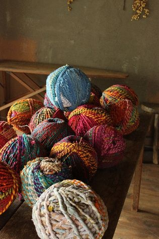 A girl can never have enough yarn!!