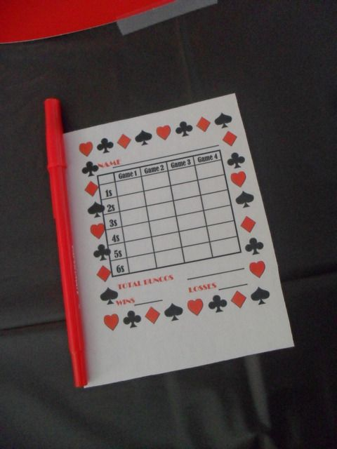 17 Best Images About Bunco Time! On Pinterest