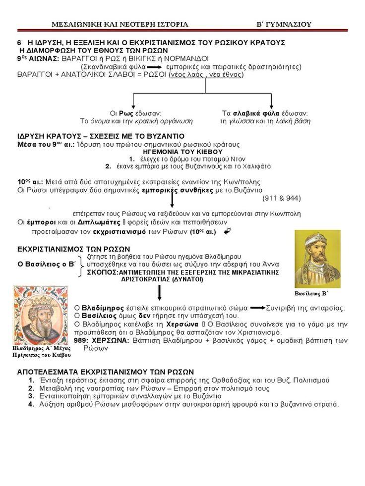 I'm reading ΚΕΦ Γ Δ.Ε. 6 Η ΙΔΡΥΣΗ , Η ΕΞΕΛΙΞΗ ΚΑΙ Ο ΕΚΧΡΙΣΤΙΑΝΙΣΜΟΣ ΤΟΥ ΡΩΣΙΚΟΥ ΚΡΑΤΟΥΣ on Scribd