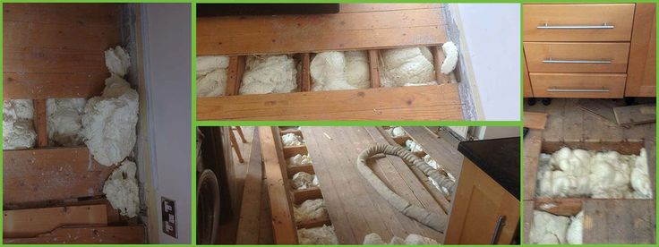 underfloor spray foam insulation