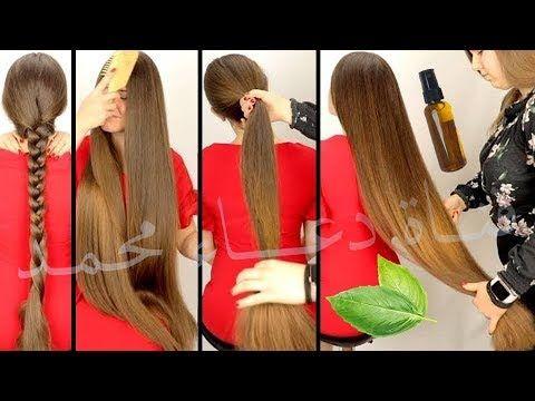 طريقتين لتطويل الشعر القصير احلى من بعض الثانية ريحتها روووعة والاولي بتمنع الشيب فوائد عظيمة Youtube Hair Straightener Beauty Hair