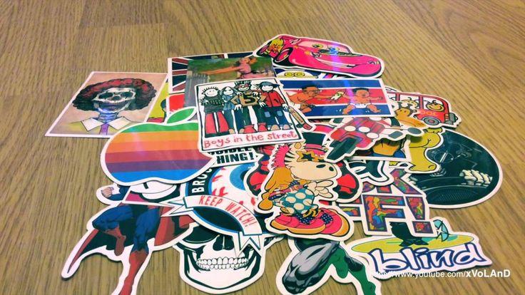 100pcs Stickers for decorate car, laptop, motorcycle, skateboard and etc.  https://youtu.be/cJpEMCYhbU4  - Наклейки из Китая для украшения: машины, компьютера, ноутбука, мотоцикла, мотороллера, скейтбоарда и т.д.  #Aliexpress #China #BuyChina #Stickers #Decorate