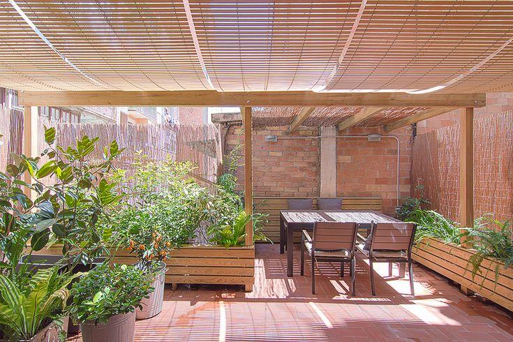 Diseño espacio exterior. Terraza Barcelona | FFWD Arquitectos Barcelona, estudio de arquitectura e interiorismo