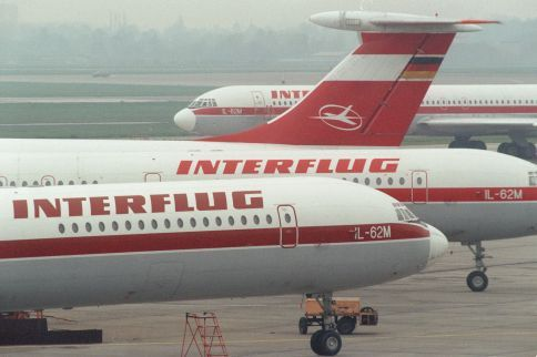 Interflug Ilyushin IL62s