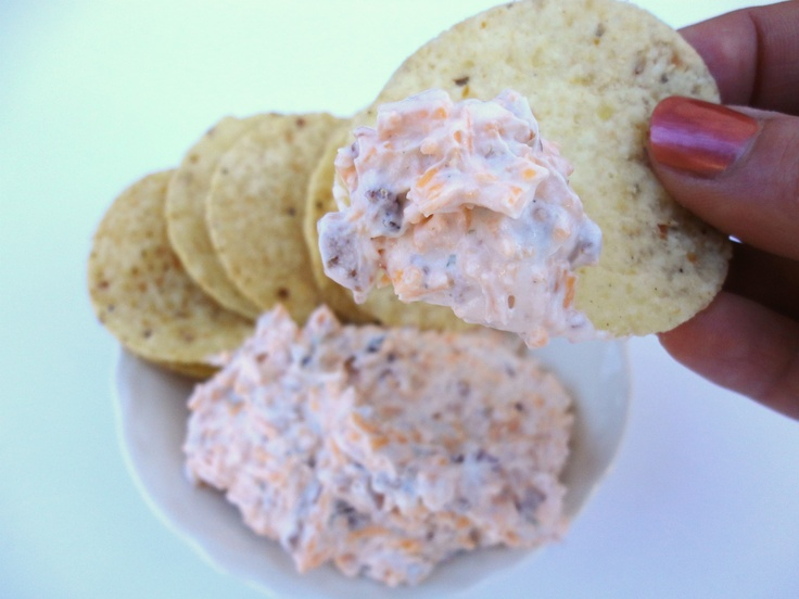 cheddar bacon dip, Premier Jewelry food Ideas/ this stuff is the bomb, and it's easy to make!