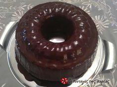 Κέικ σοκολάτας με γλάσο