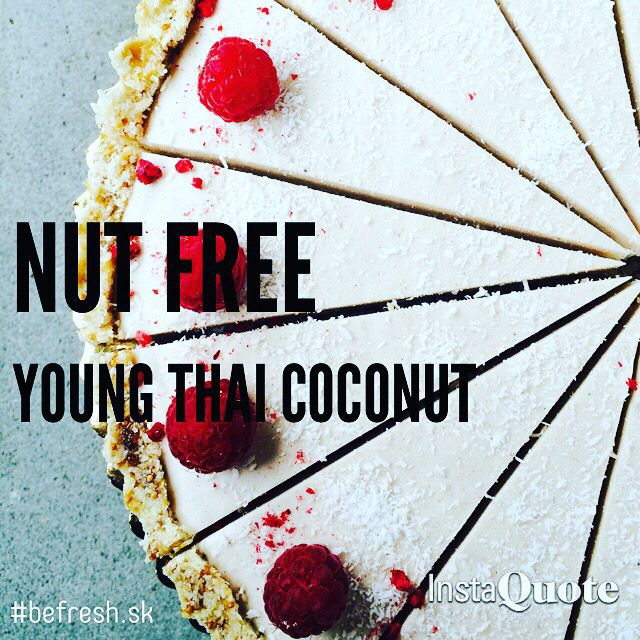 rawcake made of young thai coconut  #rawcake #befreshcakes #youngthaicoconut