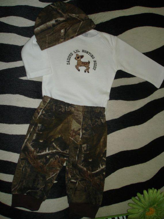 Custom Listing Infant Boy Hunting Fishing by ...