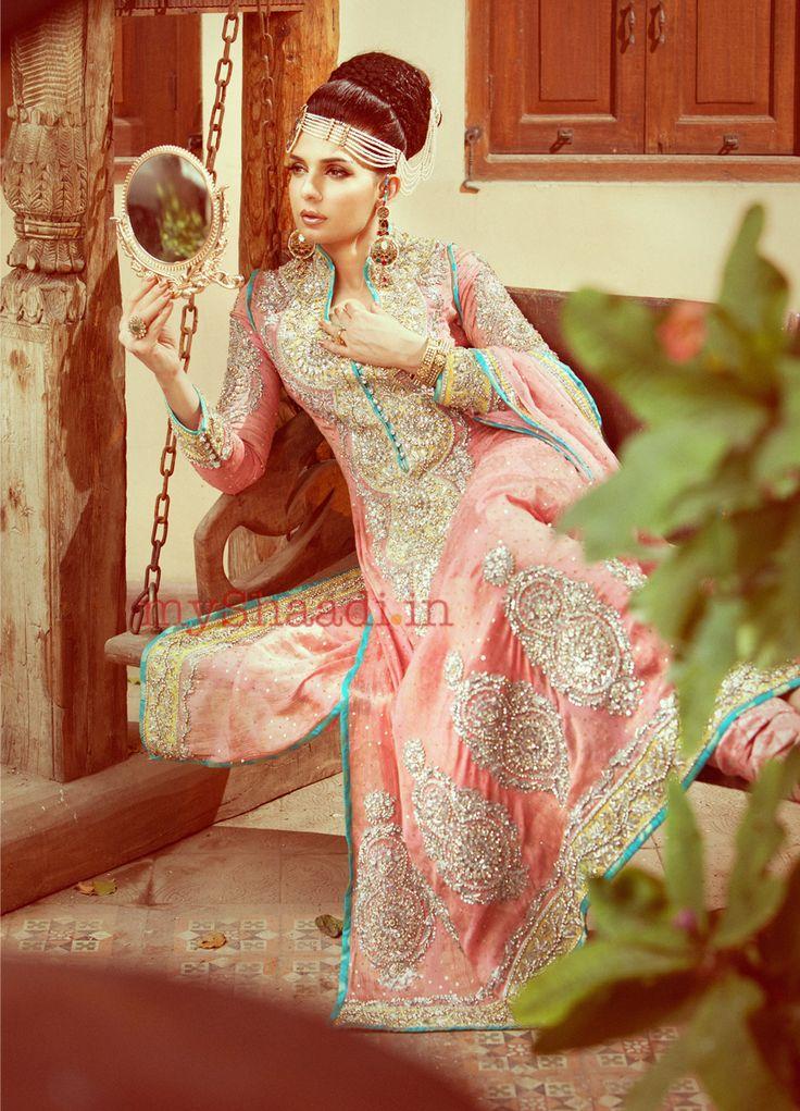 Nomi Ansari bridal collection - wedding dress collection   My Shaadi