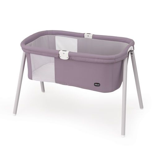 The Lullago Portable Bassinet from Chicco is the perfect solution for traveling with baby. The Lullago is easy to take with you, thanks to the included carrying bag, and it sets up in seconds. Makes traveling with baby - on vacation or to visit grandparents - simple!
