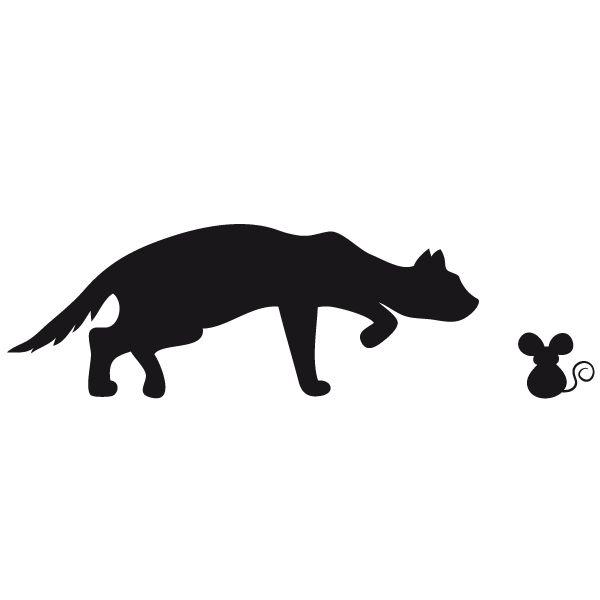 Les 93 meilleures images propos de chats sur pinterest - Tatouage silhouette chat ...