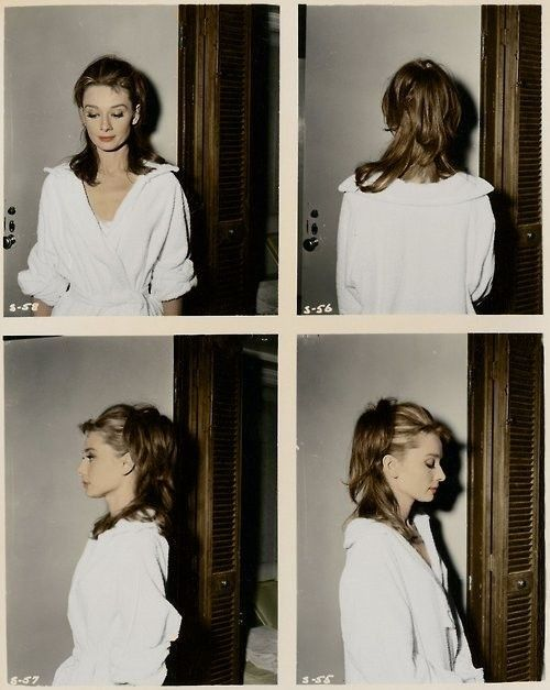 Audrey Hepburn's Breakfast at Tiffany's hair test Polaroid | AnOther Loves