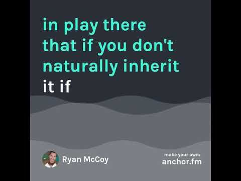 RynoRyder's Anchor Podcast - HIGHLIGHT - What it means to be a Producer -