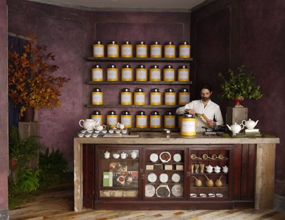Bellocq tea shop, London | Lifestyle | Wallpaper* Magazine: design, interiors, architecture, fashion, art