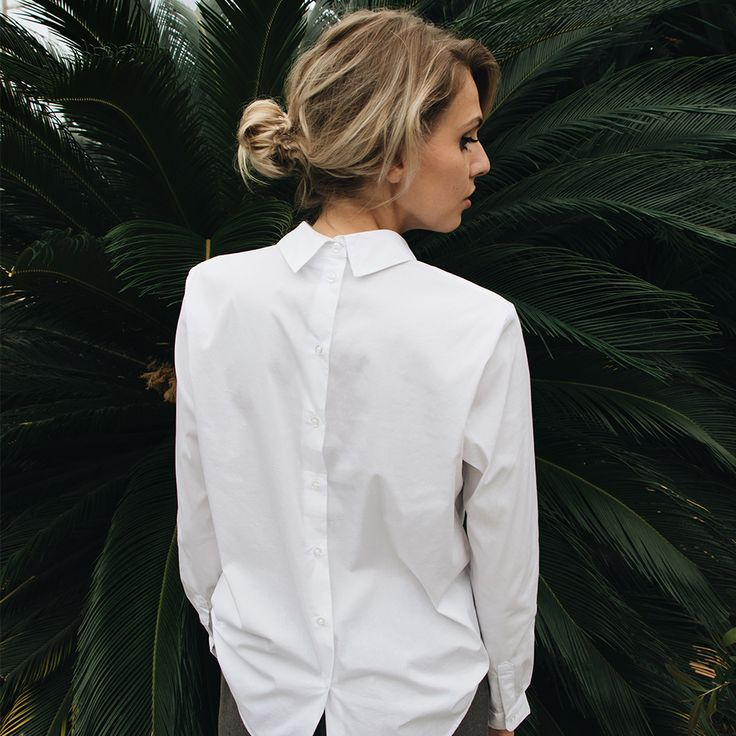 Perfect white blouse! #fashion #blouse #white #cool #style #outfit #ootd #photography #model #blondhair #photoshoot #green #cactus #outfitstyle #fashioninspiration #lookbook #outfit