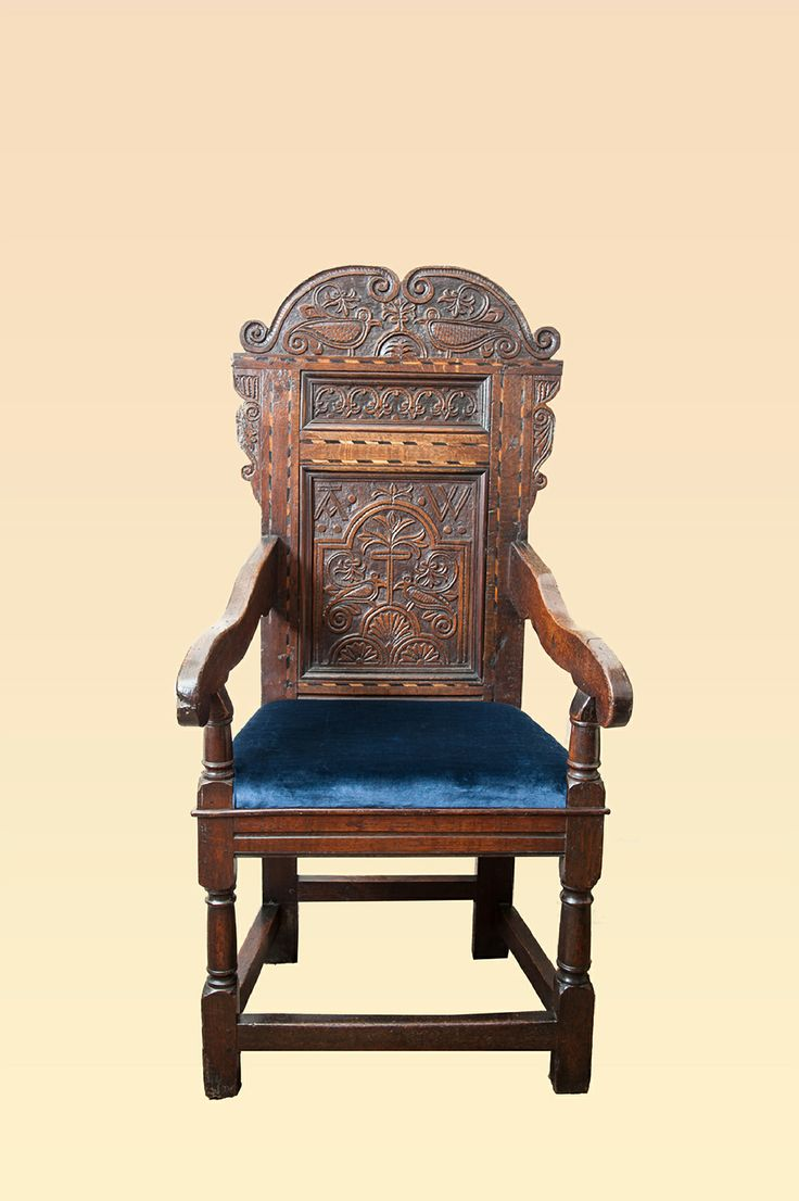 Yorkshire 17th century joined oak armchair circa 1660 -1680, Marhamchurch antiques
