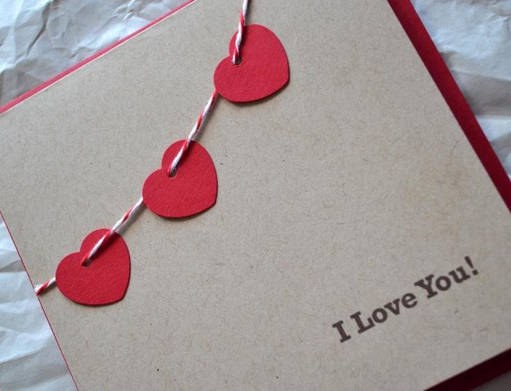 Special Card -  I Love You. via Etsy.