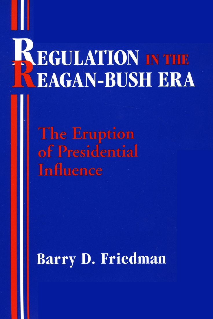 Explores the unprecedented influence of executive power over the federal regulatory process during the Ronald Regan and then George H. W. Bush presidencies.
