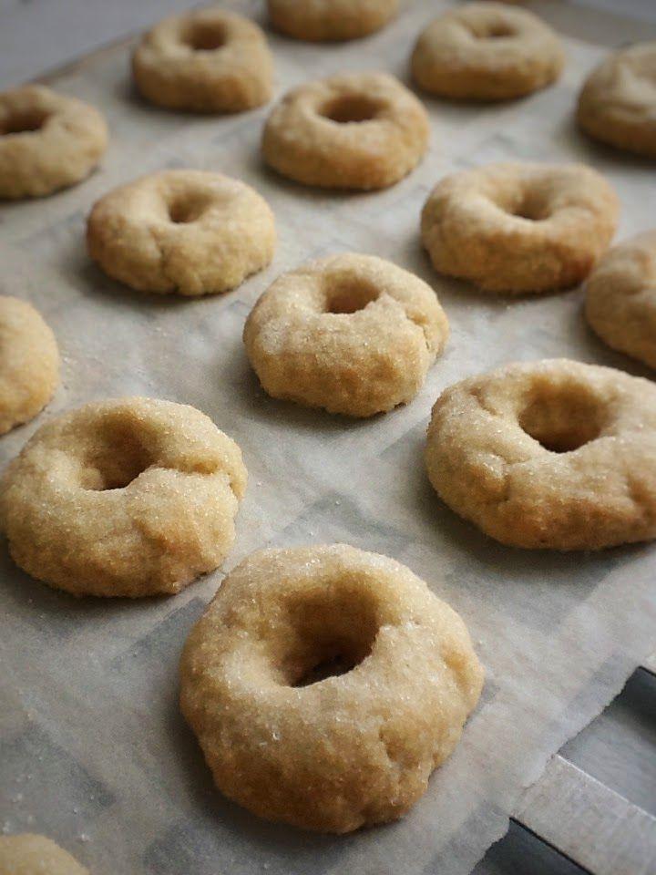 Rosquitos de Vvno blanco al horno