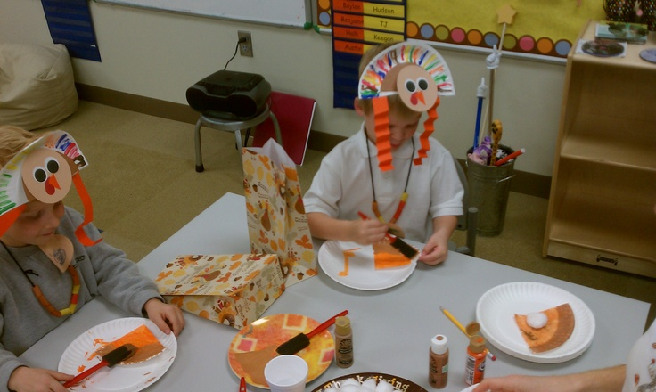 17 best images about thanksgiving on pinterest feathers for Pre k turkey crafts