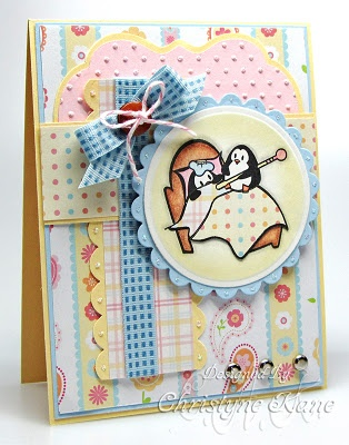 If I got cards like this, then maybe I'd be sick more often: Christmas Cards, Penguins Cards, Cards Th Cat, Custom Cards, Pajamas Cards, Cute Penguins, Cat Pajamas, Creative Cards, Cards Inspiration