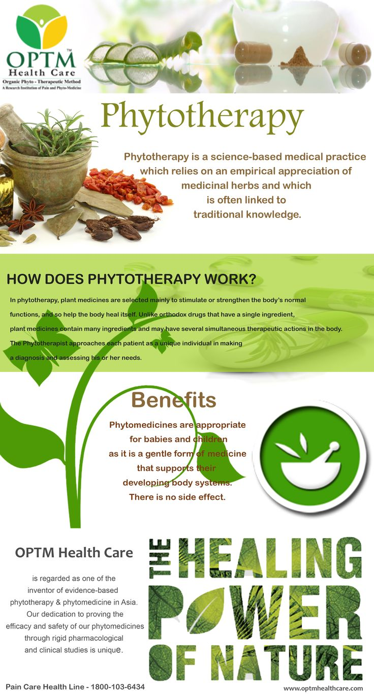 Pain Management and pain solutions using Phytotherapy and PhytoMedicines at OPTM Health Care.