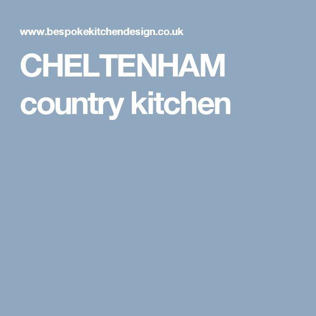 CHELTENHAM country kitchen