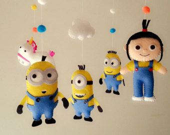 "felt mobile ""Despicable me"""