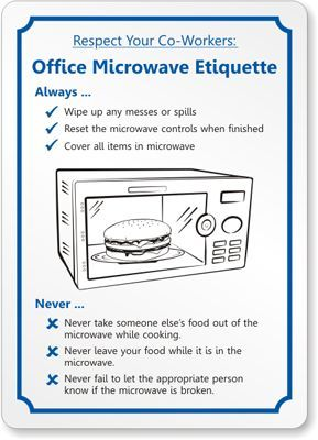 Etiquette Rules Respect Your Co Workers Office