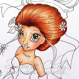 Graph'It markers : Tutorial: Colouring Red Hair
