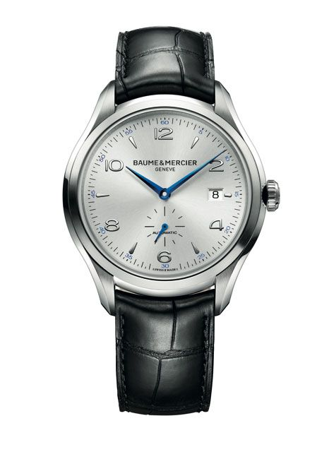 Baume & Mercier's new Clifton men's collection, making its debut at SIHH 2013.
