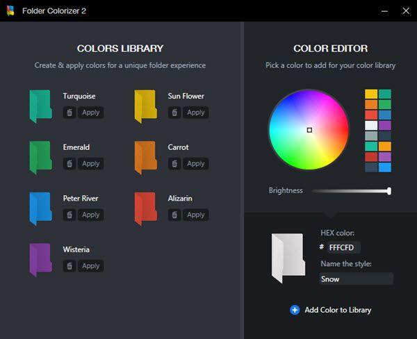 Color Folder Windows 10 Custom Folders Windows 10 Folder Icon