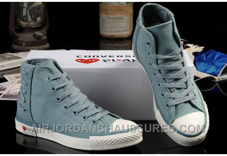 http://www.airjordanchaussures.com/ultimate-edition-light-blue-converse-comme-des-garcons-play-chuck-tayloar-all-star-high-tops-canvas-sneakers-for-sale-d44ym.html ULTIMATE EDITION LIGHT BLUE CONVERSE COMME DES GARCONS PLAY CHUCK TAYLOAR ALL STAR HIGH TOPS CANVAS SNEAKERS FREE SHIPPING RJJR8 Only 59,00€ , Free Shipping!