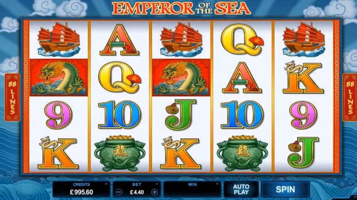 New Emperor of the Sea Video Slot Game