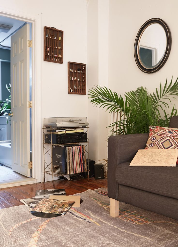 Small Space Apartment Ideas Part - 50: 400 Square Feet In Philly · Apartment InteriorApartment DesignApartment  IdeasRecord ...
