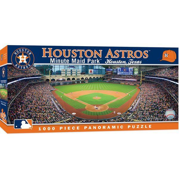 Minute Maid Park Houston Astros 1000pc Panoramic Puzzle Br Easter Possible But Not Guaranteed In 2020 Minute Maid Park Minute Maid Park Houston Houston Astros