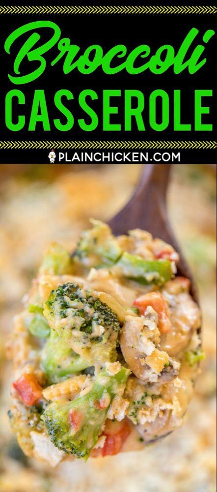 Broccoli Casserole – NO cream of anything soup!! L…