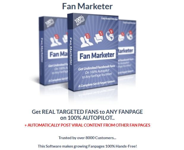 Fan Marketer Software By Ankur Shukla is Best Software That Helps You Create More Fans To Your Fan-Pages And Generate More Traffic To Your Website With Complete Autopilot & Start Adding Unlimited 100% Real, Targeted Fans To Any Fanpage In Under 2 Minutes. This is A Complete Set & Forget System To Get Unlimited Facebok Fans On 100% Autopilot To Any FanPage You Want, Auto Posts Unlimited Content to Fanpages Such As Text, Images, Links and Videos, Perfect For Website Owners, Bloggers and…