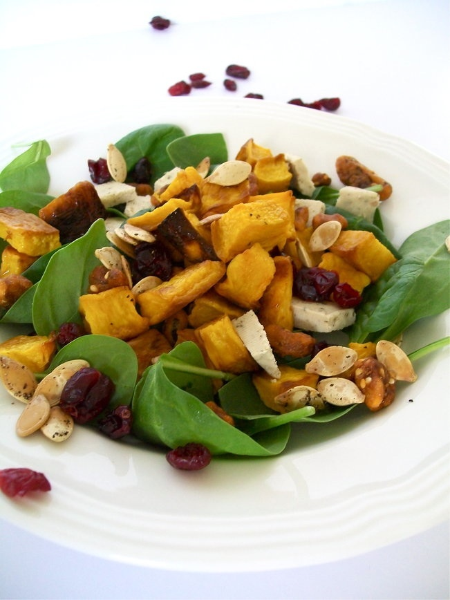 roasted pumpkin salad | yummy! | Pinterest