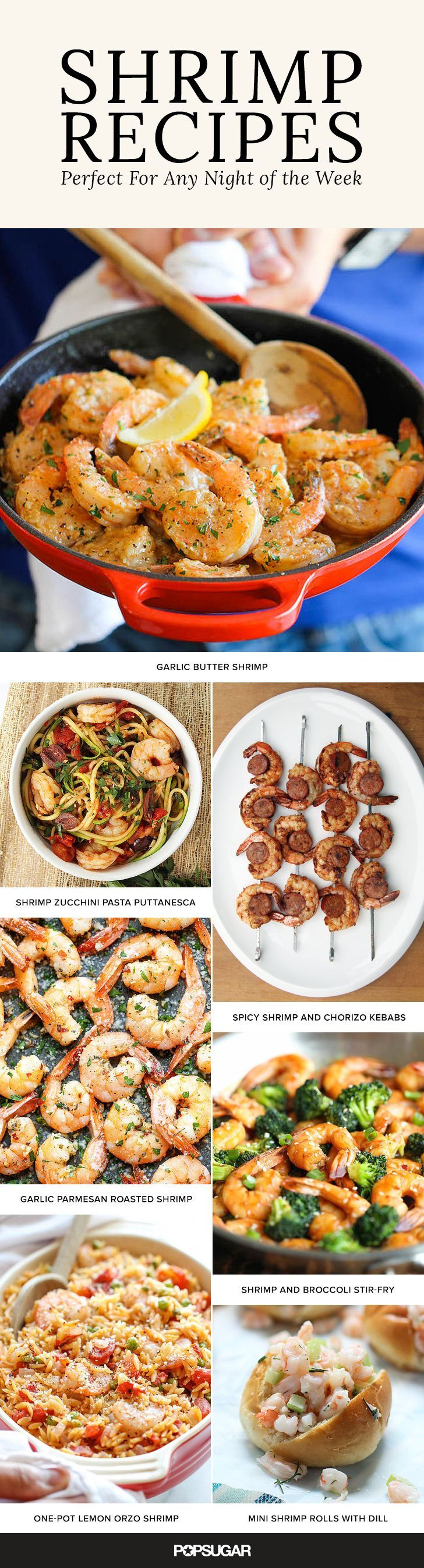 Shrimp has always been a fan favorite, and we've got a ton of shrimp recipes perfect for any night of the week. With dishes like Buffalo Shrimp Skewers, Garlic Parmesan Roasted Shrimp, and crispy Coconut Shrimp you'll have the whole family hungry for more!