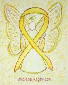 Angel/yellow ribbon...might be my next tattoo....Ryan makes me so proud!
