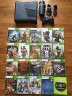 Microsoft Xbox 360 Slim 4gb Console  20 Games huge bundle lot system halogears