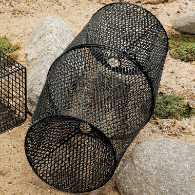 Frabill vinyl coated crawfish trap products for Homemade fish traps