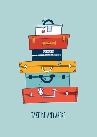 Take me anywhere by Gal Ashkenazi - L'envie de voyager et de faire ses valises ! #EspritVoyageur