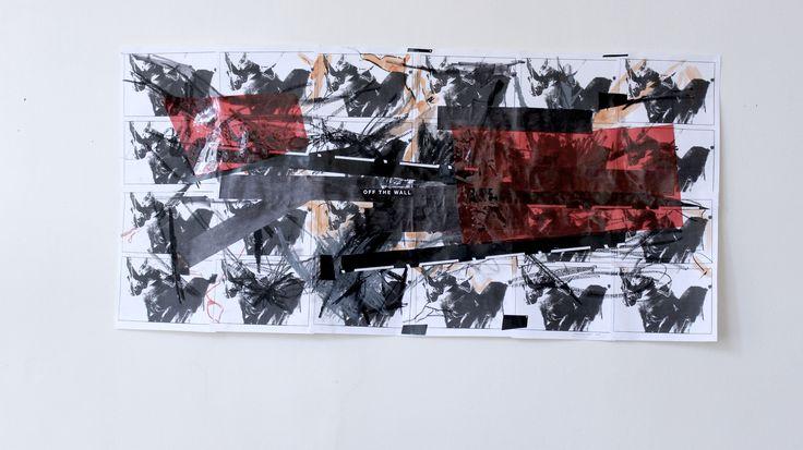 1 FRAME / EXHIBITION OF JANOS VISNYOVSZKY'S ARTWORK