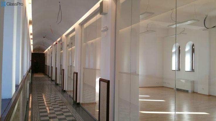 Compartimentari din sticla, Primaria Sectorului 1, Bucuresti.