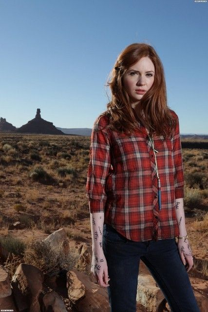 Amy Pond. Gotta remember to do the marks.